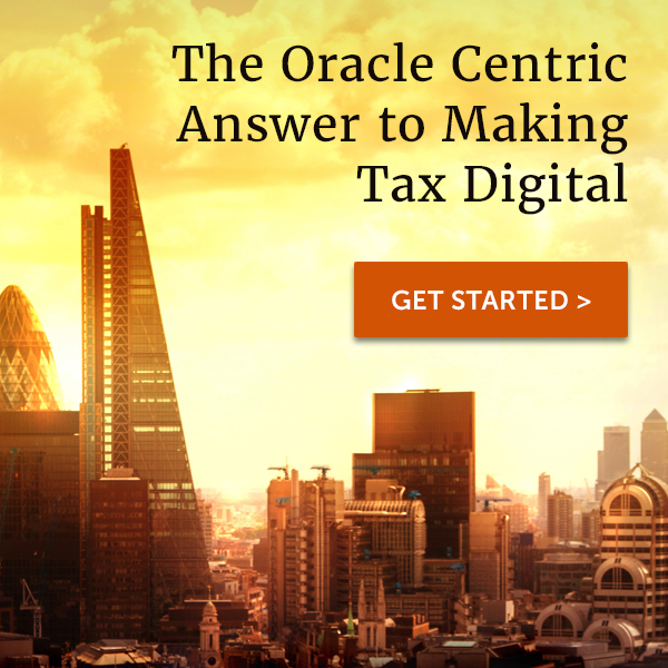 The Oracle Centric Answer to Making Tax Digital